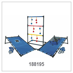 3 In 1 Game , Bean Bag Toss, Ladderball, Washer Toss