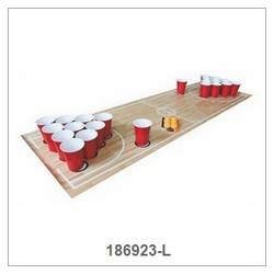 Beer Pong with Mat