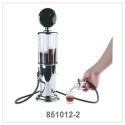 Beverage Dispenser With 2 Head