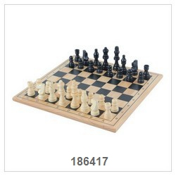Chess Game With Nature Board