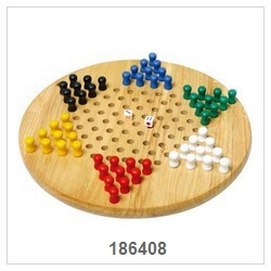 Chinese Checker Game With Nature Board-1