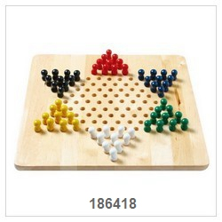 Chinese Checker Game With Nature Board-2