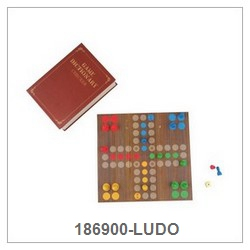 Ludo Game Set In Paper Book Box