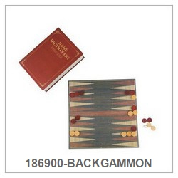 Paper Book Box-Backgammon