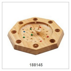 Wooden Roulette Game