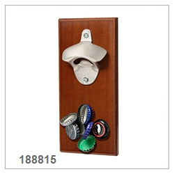 Wall Mount Beer Bottle Opener With Magnet